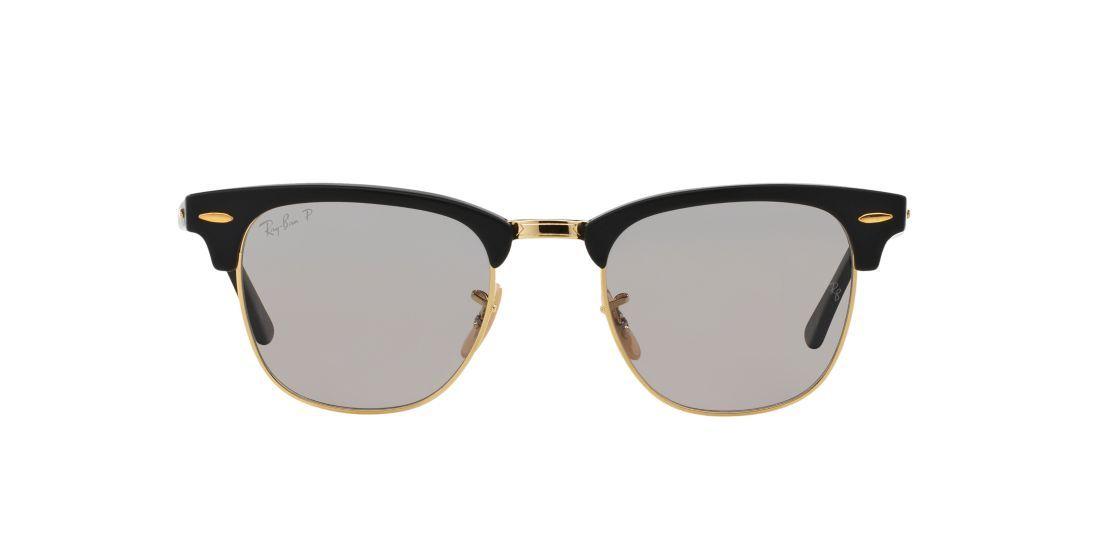 cc1a055a73 Ray-Ban Polarized RB3016 49 CLUBMASTER Sunglasses