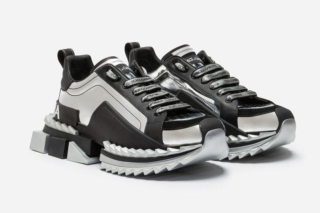 돌체 앤 가바나 슈퍼 킹 스니커 Dolce Gabbana Super King Footwear In