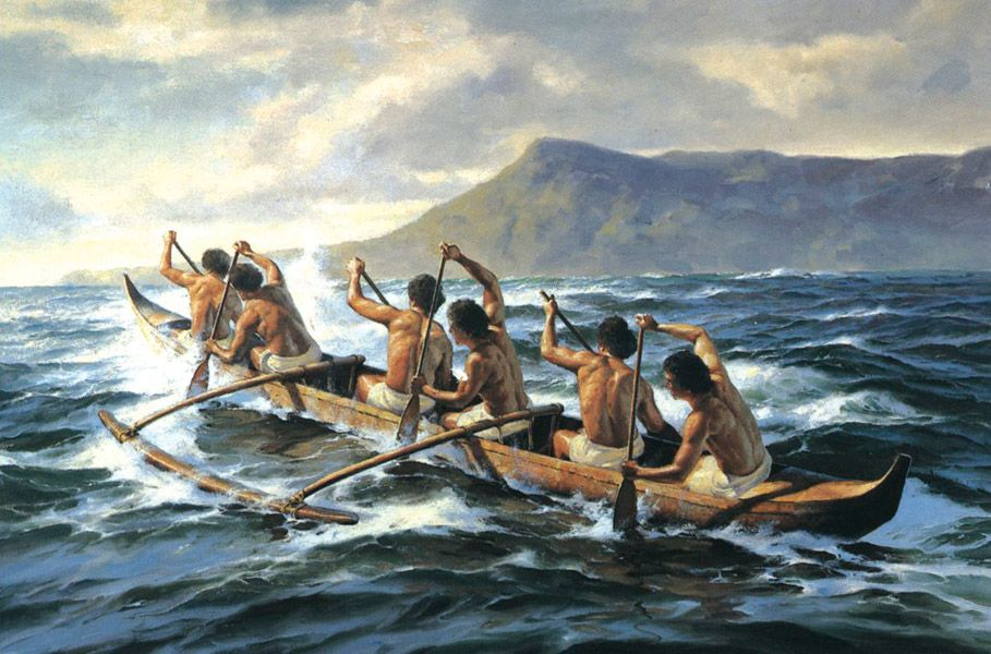 Outrigger canoe # | ships of ancient times | Pinterest ...