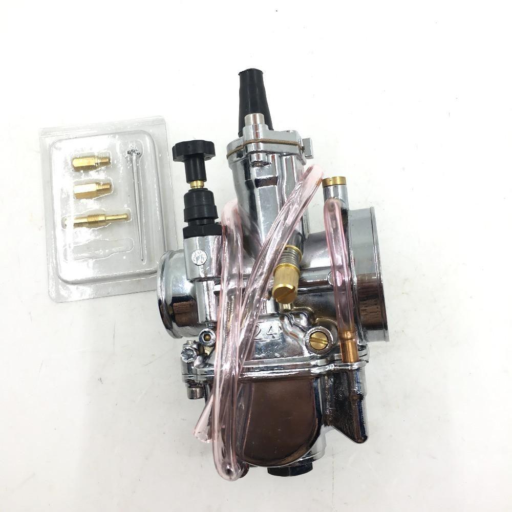 24mm PWK 24 Carb Carburetor JOG RTL250 CR80 CR125 chrome