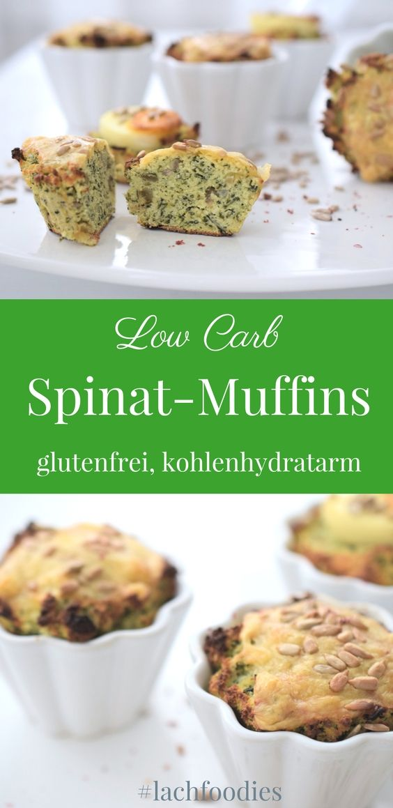 herbstliche spinat muffins low carb rezept low carb glutenfrei mittagessen ohne. Black Bedroom Furniture Sets. Home Design Ideas