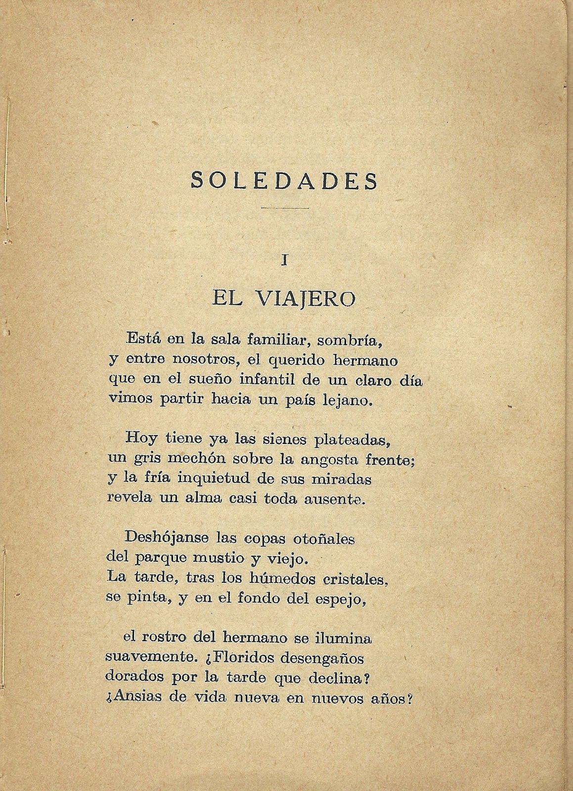 Primera Etapa Modernismo Simbolista Antonio Machado Publica El