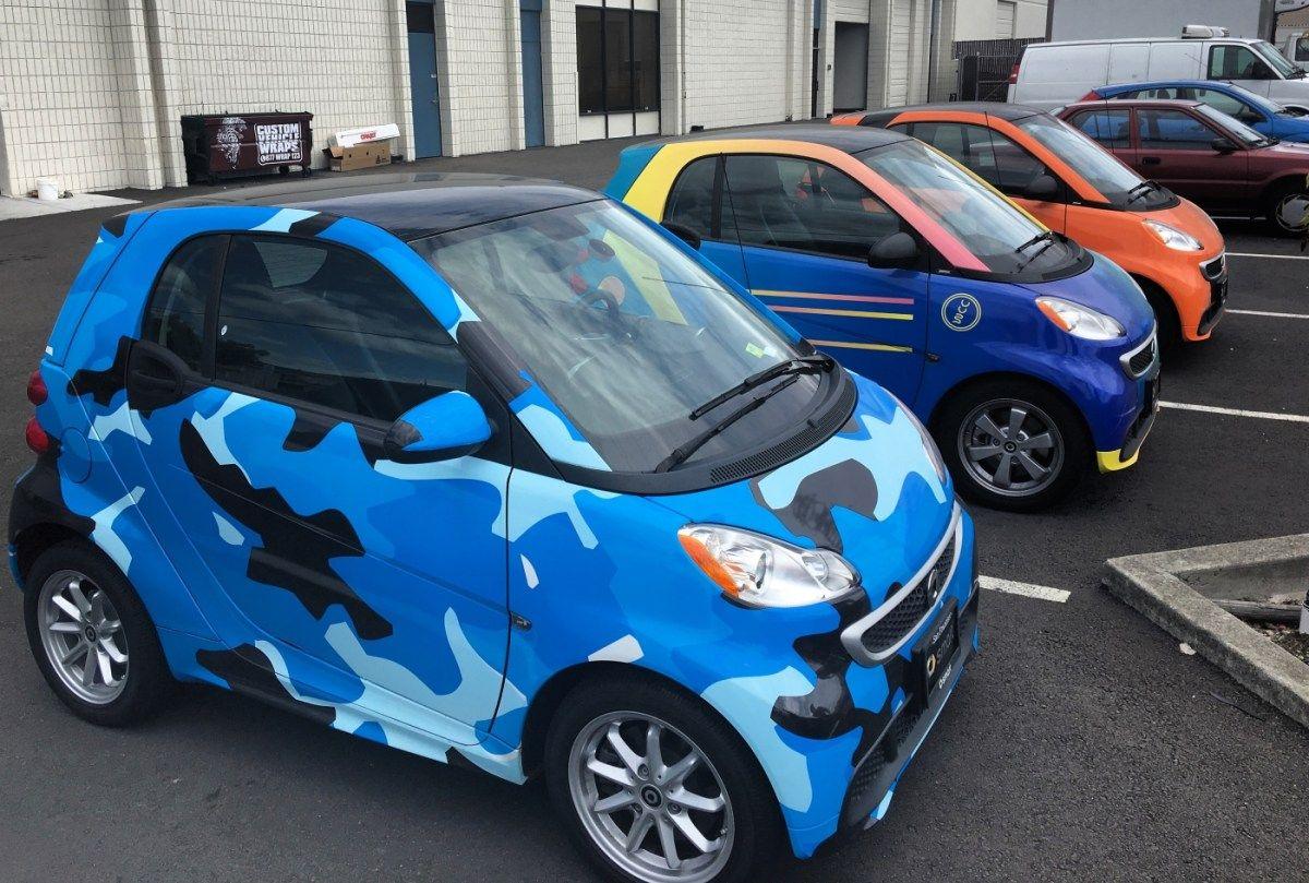 Smart Car Wraps Smart Car Smart Fortwo Car Wrap