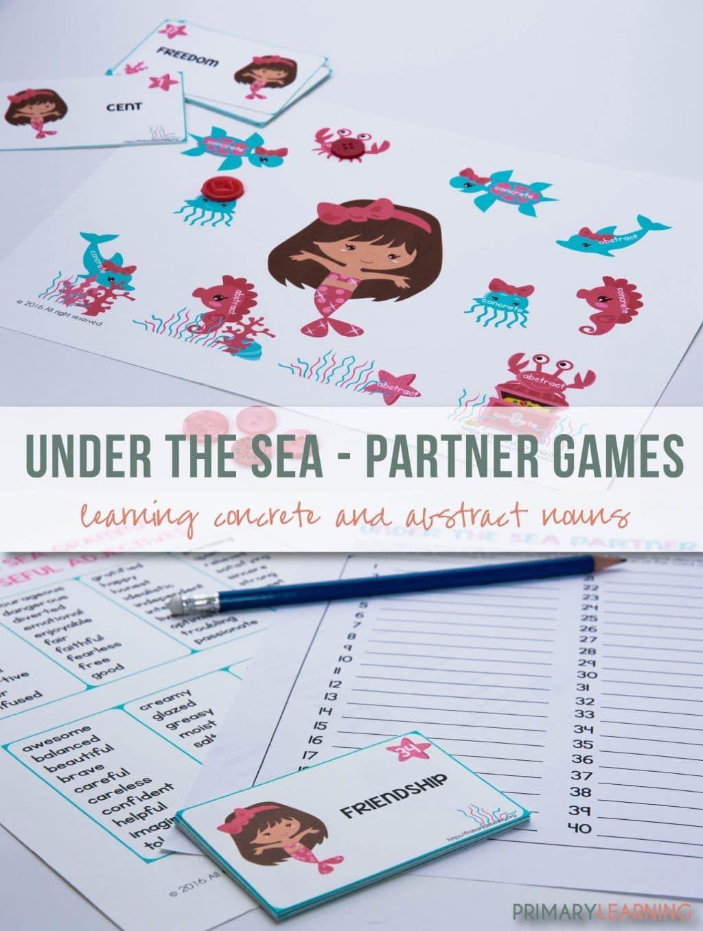 Free Noun Partner Games