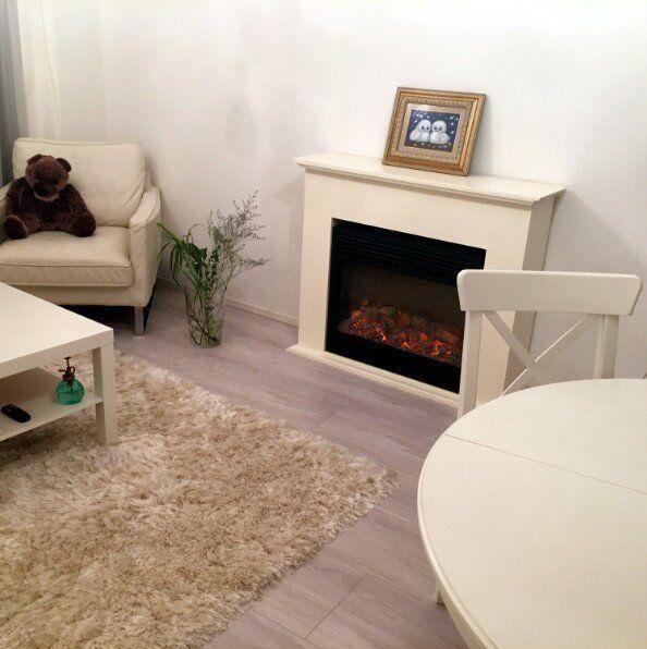 簡単 ダンボールとリメイクシートで飾り棚になる暖炉が手作りでき