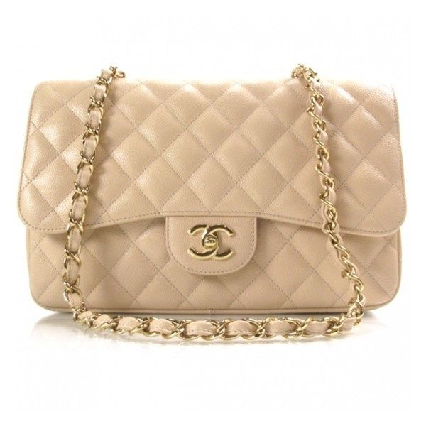 Chanel Jumbo Flap Bag in Beige | For special occasions in Spring or Summer