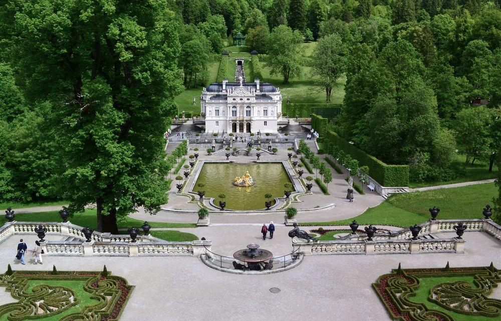 Schloss Linderhof Architecture Details Germany Linderhof Palace