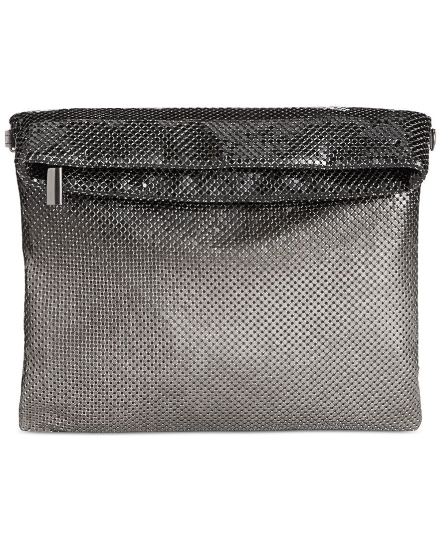 Inc International Concepts Ombre Mesh Foldover Clutch, Only at Macy's