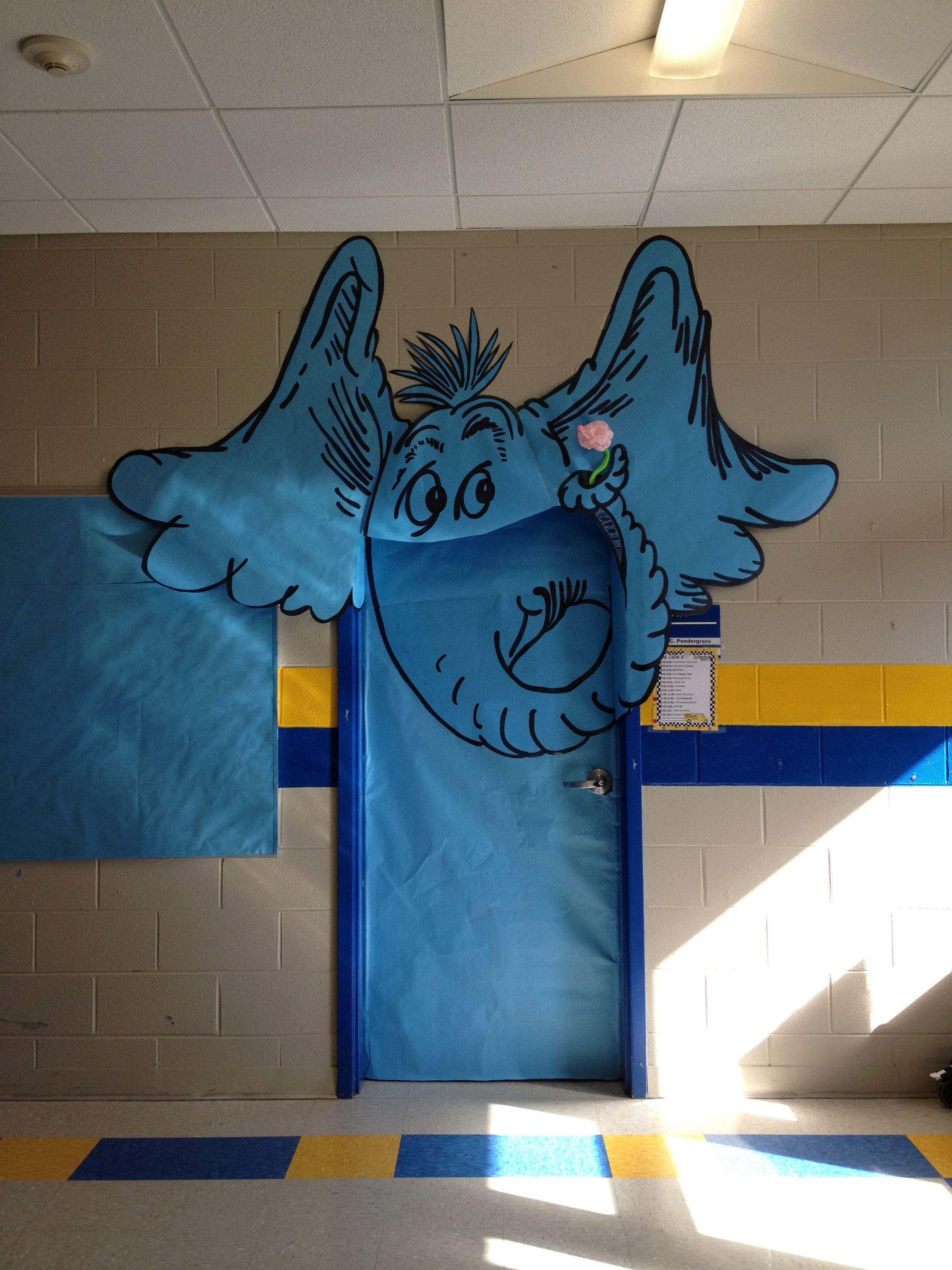 Dr. Seuss Week. Horton hears a who.   Horton Hears A Who Door ...