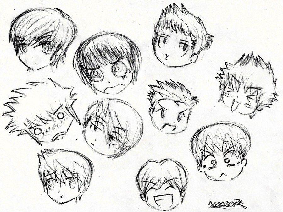 Anime Chibi Boy Hairstyles 5001102 Jpeg 900 675 Chibi Hair Chibi Boy Boy Hair Drawing