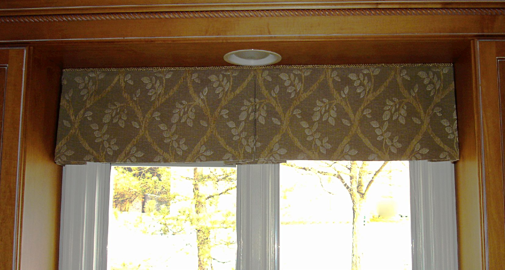 Kitchen Valance Patterns Wood Cabinets Free Pleated In Window Valances