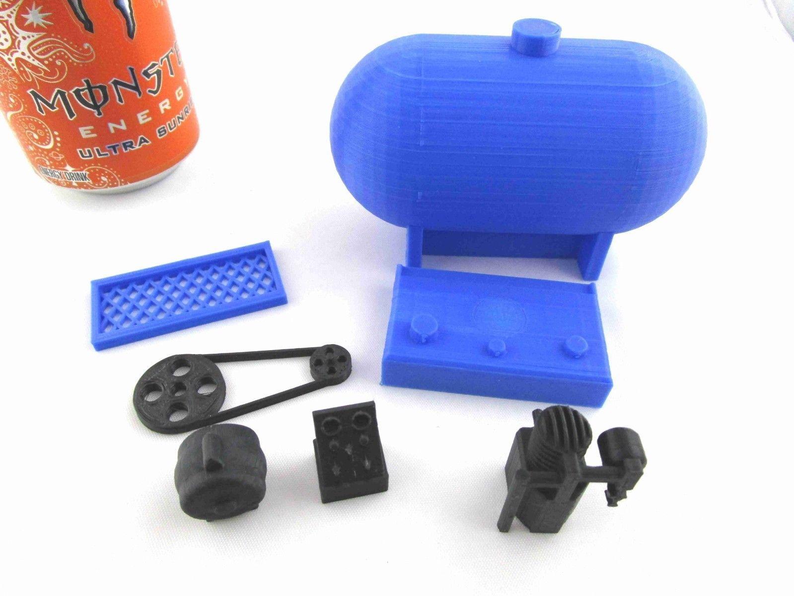 RC 1/10 Scale Air Compressor Shop Garage Rock Crawler Doll
