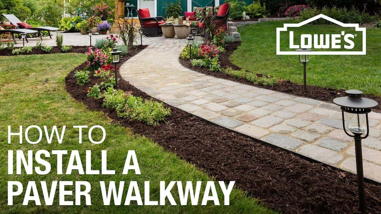 DIY Modern Landscaping Ideas Backyard walkway, Outdoor