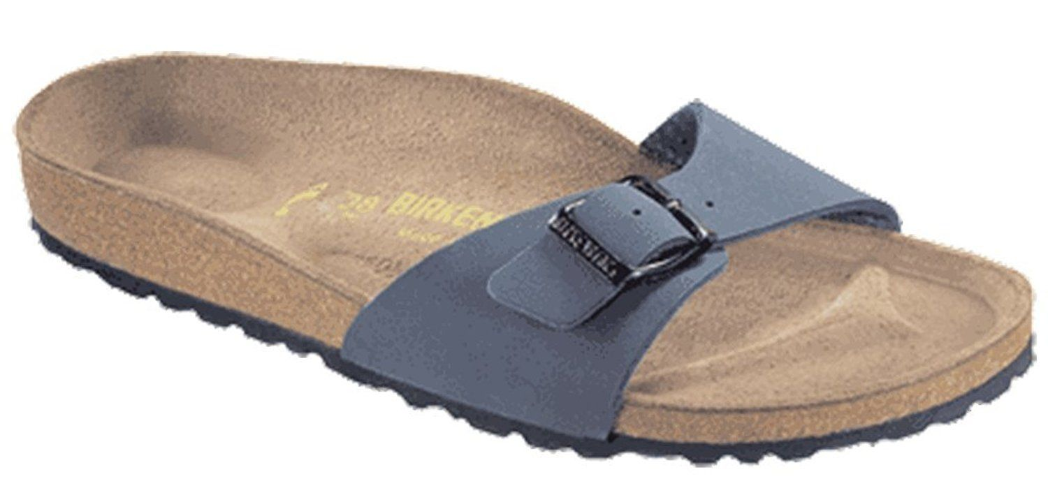 8841b8a36f8 Birkenstock Original Madrid Birkibuc Narrow width, navy M12 45,0 ** You can  get more details here : Birkenstock sandals