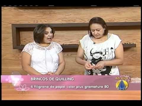 Brincos de Quilling | Sabor de Vida - 15 de Março de 2012