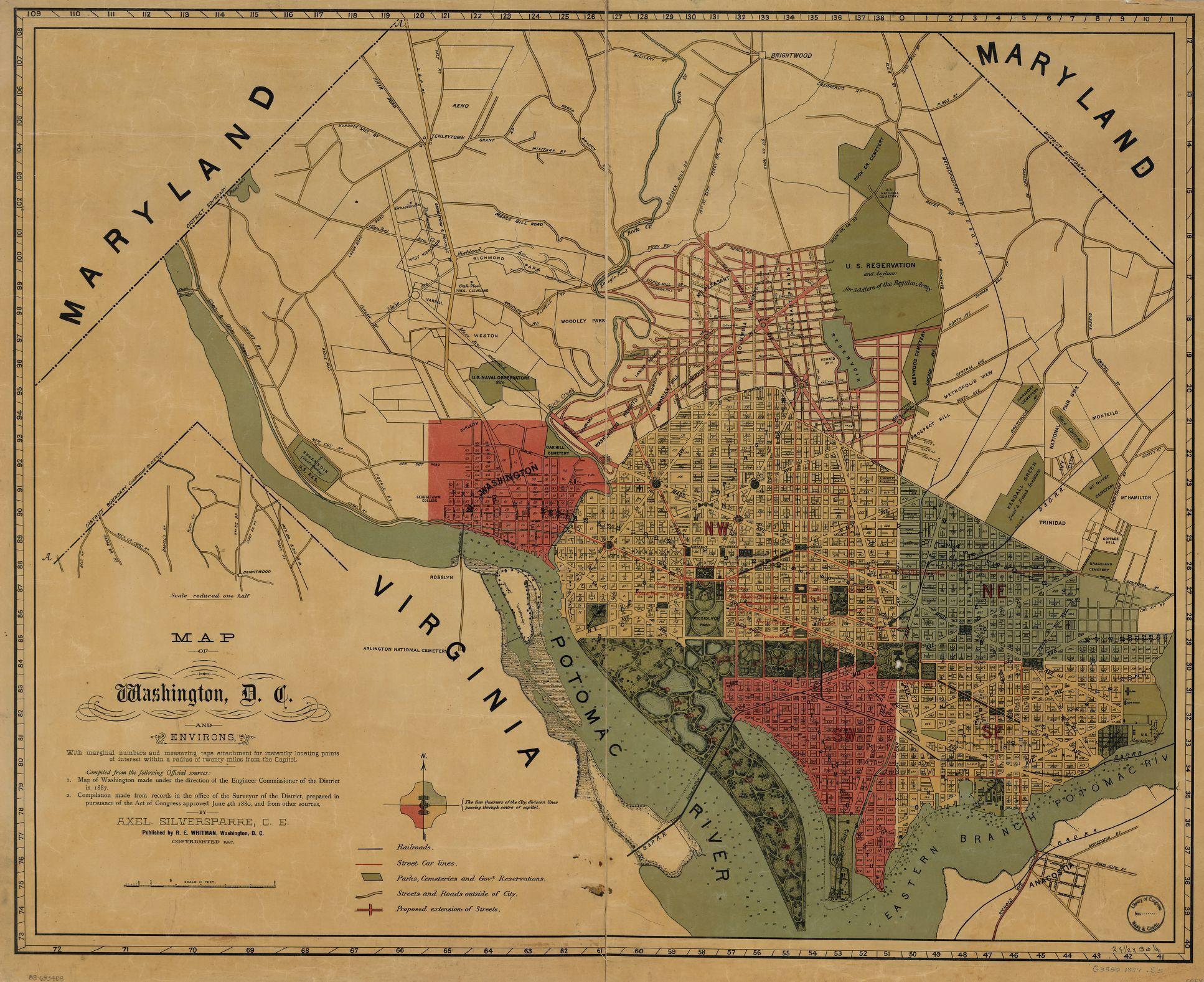 Image From Httpdcwalkaboutcomblogassetswashingtondc - Washington dc map of monuments