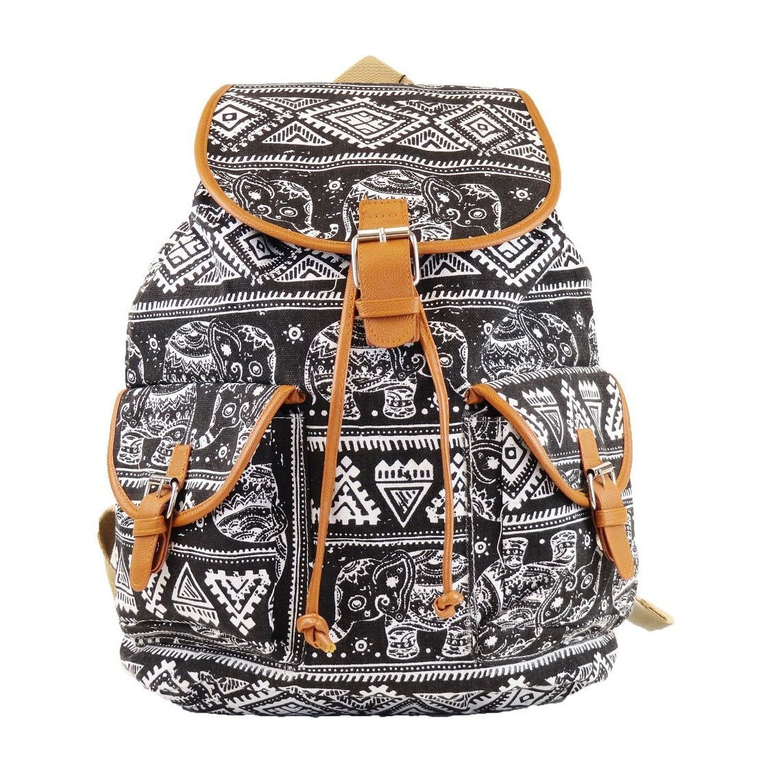Hearty Trendy Tribal Print Backpack