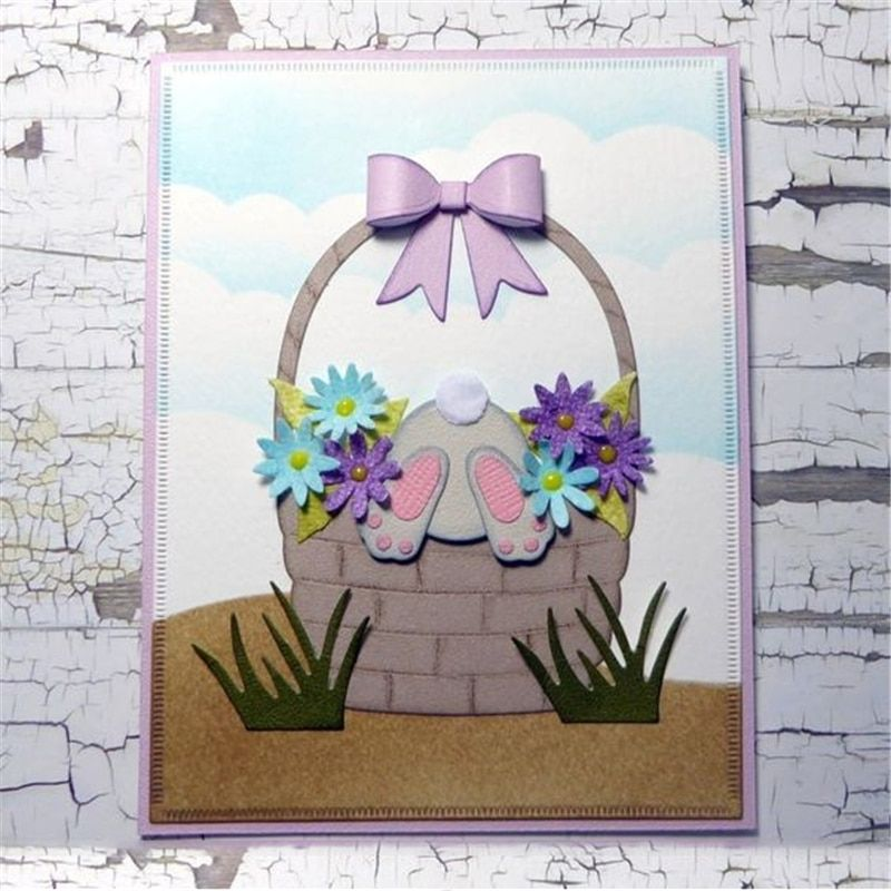 Elizabeth Craft Metal Die-Bunny