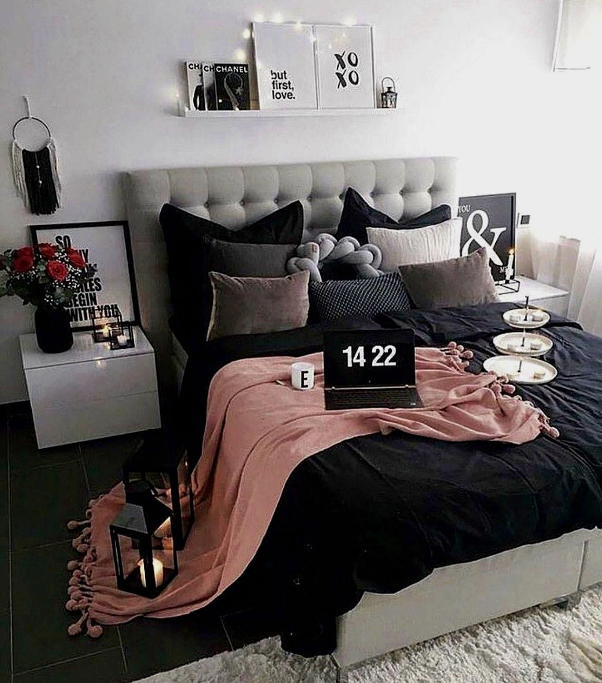 Captivating Bedroom Ideas Positively Lovely Styling Help For Further Imaginative Room Decor Suggestions Simp Bedroom Makeover Bedroom Design Awesome Bedrooms