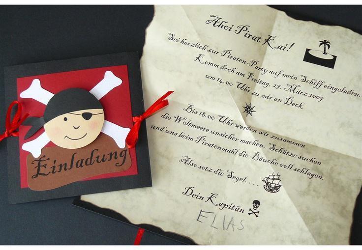 Photo of Einladung Kindergeburtstag Piratenparty Unique Einladung Piratenparty Text   Geb…