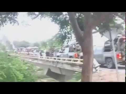 Disparos en Ostula, Michoacán