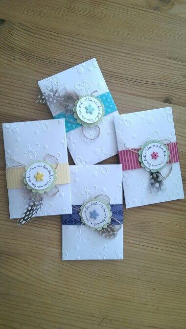 SU-Frühlingsgruß Mini-Umschlag mit Blumensamen