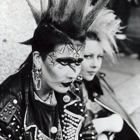 Image result for 1970s punk hair