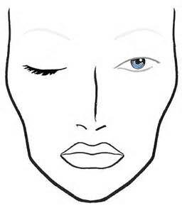 Blank mac face chartsg also charts printable makeup pinterest rh