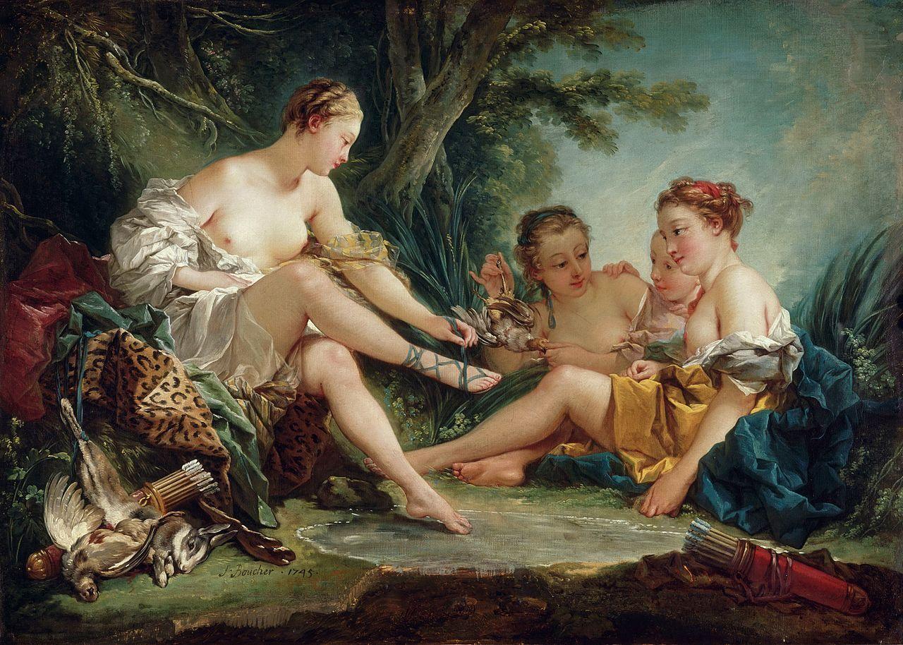 Boucher El Bano De Diana.El Bano De Diana De Boucher Buscar Con Google Arte Y