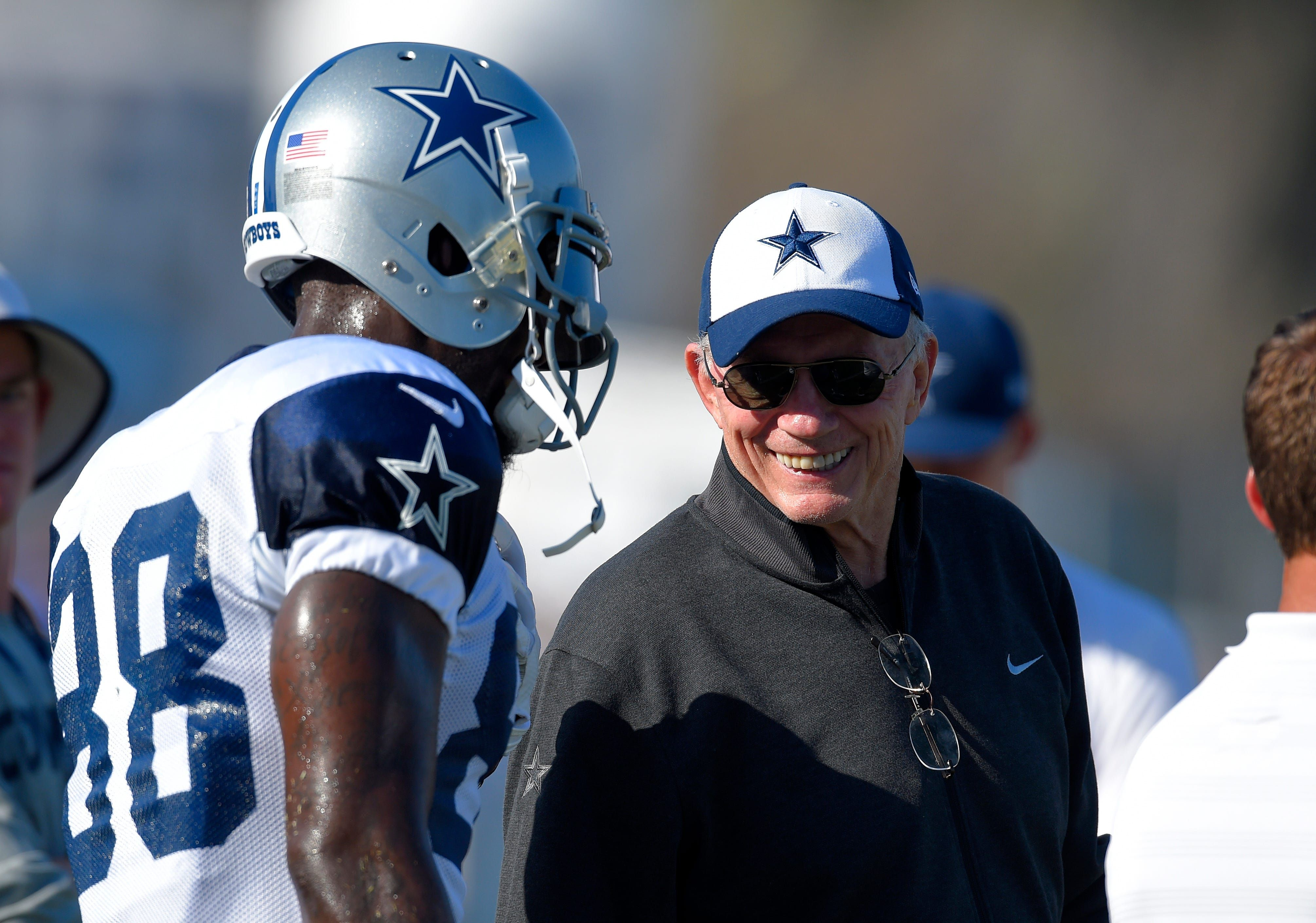 Cowboys owner Jerry Jones is thinking about a Dez Bryant