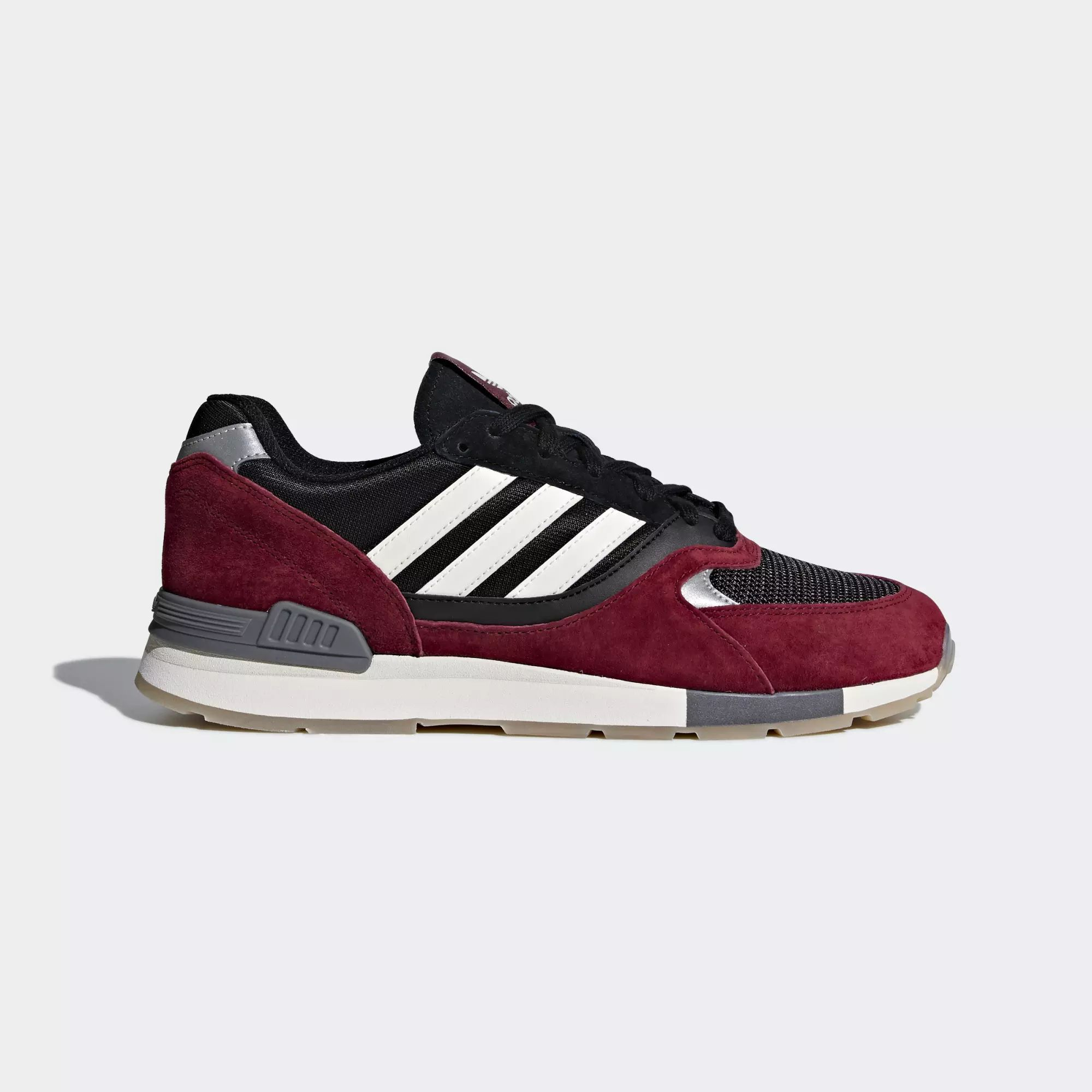Adidas Quesence Shoes Collegiate Burgundy Chalk White