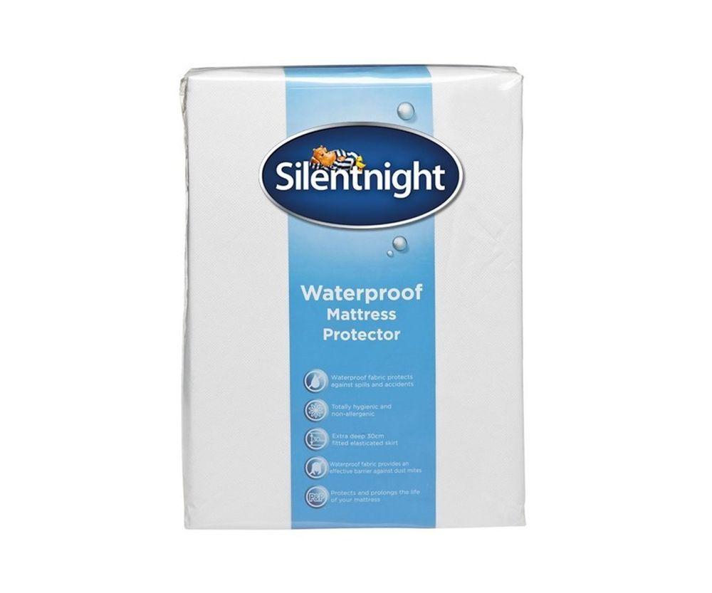 New Silentnight Mattress Protector Waterproof Bed Sheets Single Waterproof Mattress Silentnight Mattress Protector