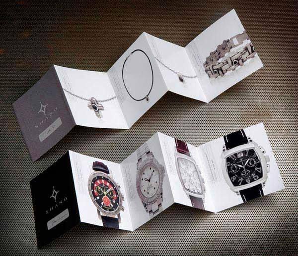 Desain Katalog Brosur Perhiasan  Shano Precious Jewelry