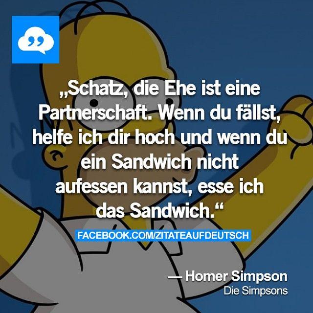 Homer Simpson • Ehe • Partnerschaft • Unterstützung ...