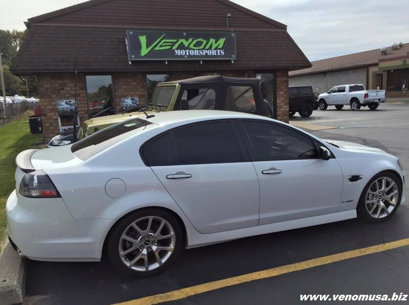 Pontiac G8 With New Kooks Headers And Magnaflow Exhaust Venom