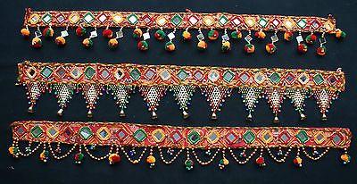 Indian Handicrafts Vintage Ethnic Traditional Toran Door Valance