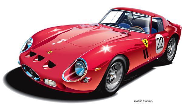 Dany Galgani Auto Art With Images Car Art Automotive Art