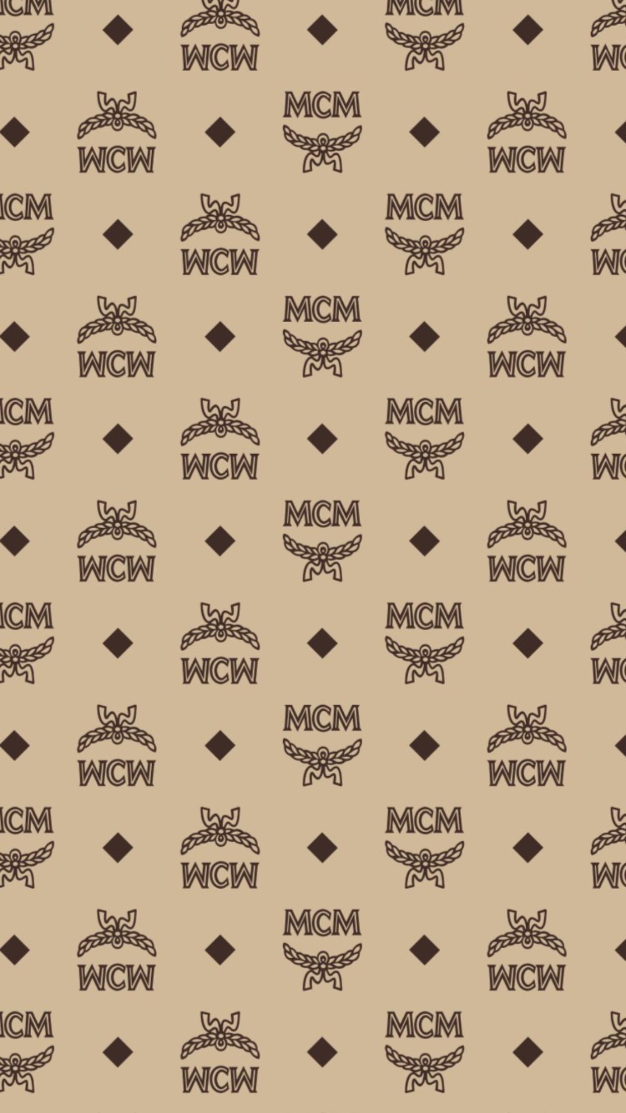 Mcm Wallpaper Iphonewallpaper Designerwallpaper Fashion
