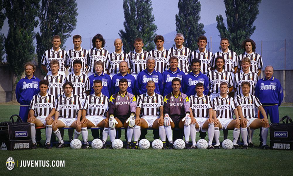 Cartoncino Juventus 1997//98 Nicola Amoruso