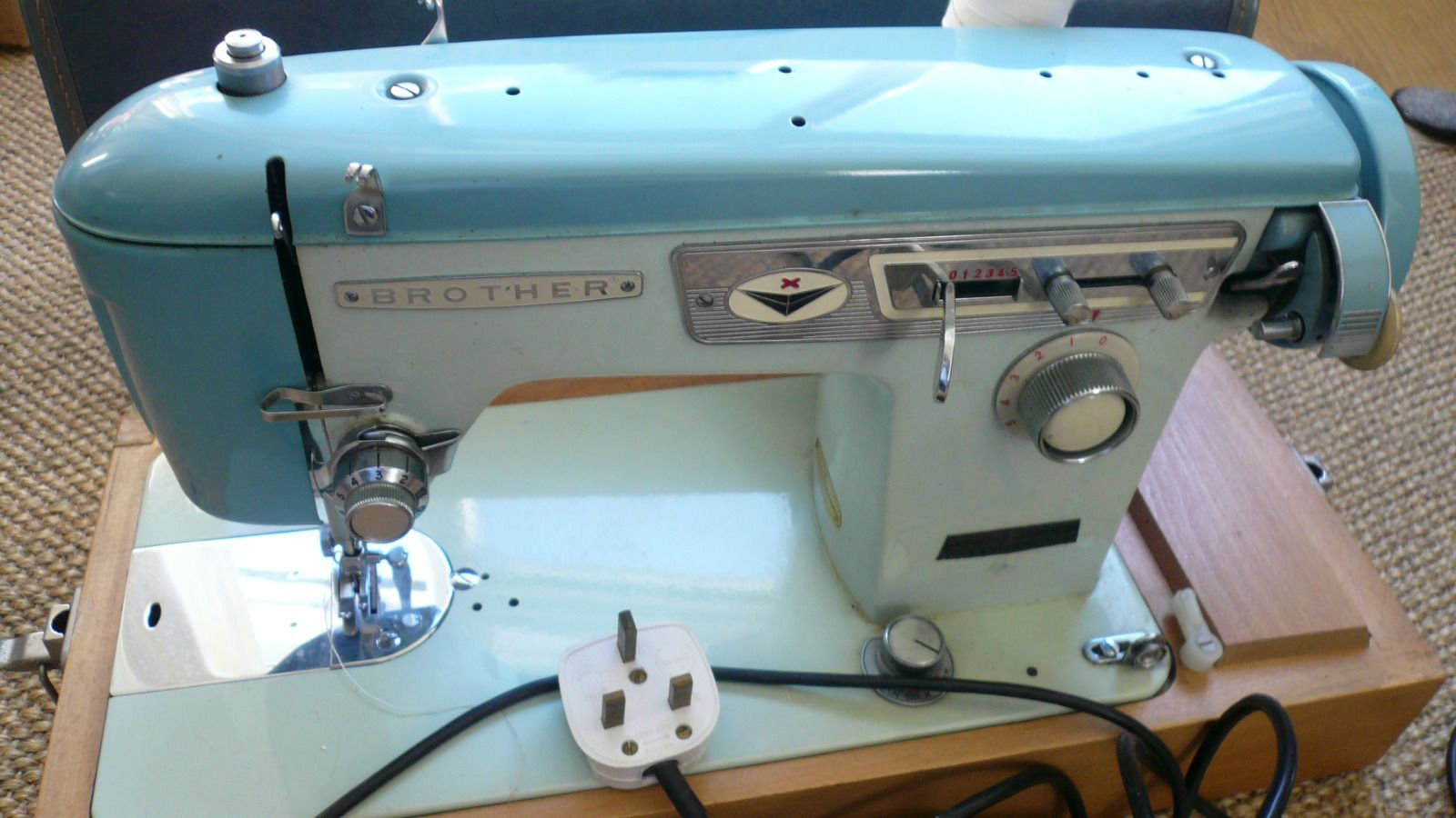 vintage brother sewing machine manual
