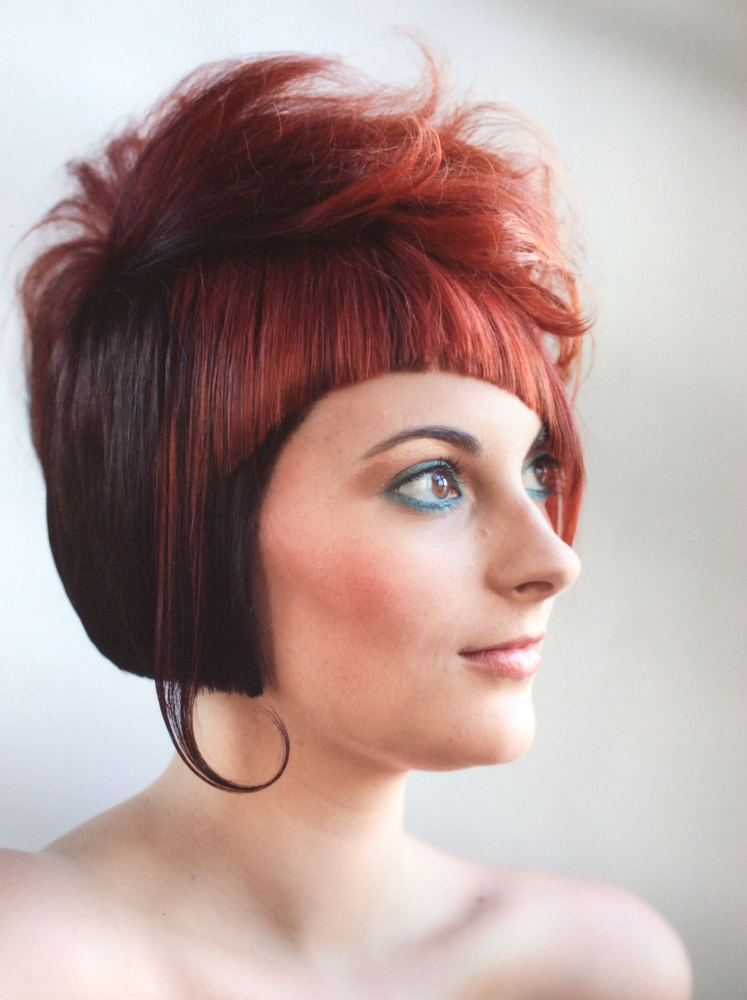 Haircut by: Amanda Jewell-Williams Hair color: Jessica Simons Makeup: Therese Paradise