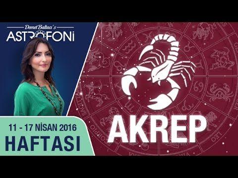 AKREP burcu haftalık yorumu 11 - 17 Nisan 2016