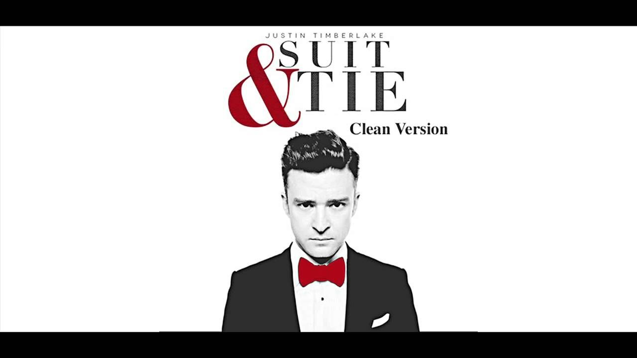 Justin Timberlake Suit and Tie Clean Version