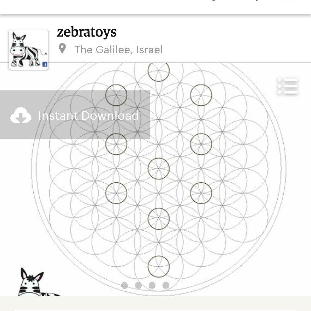 Sacred Geometry Symbols Coloring Book-Spiritual Esoteric