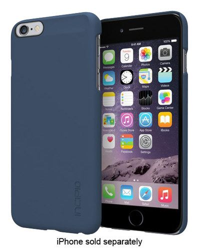 100% authentic 90acb ecf8d Incipio - feather Case for Apple® iPhone® 6 Plus - Navy (Blue ...