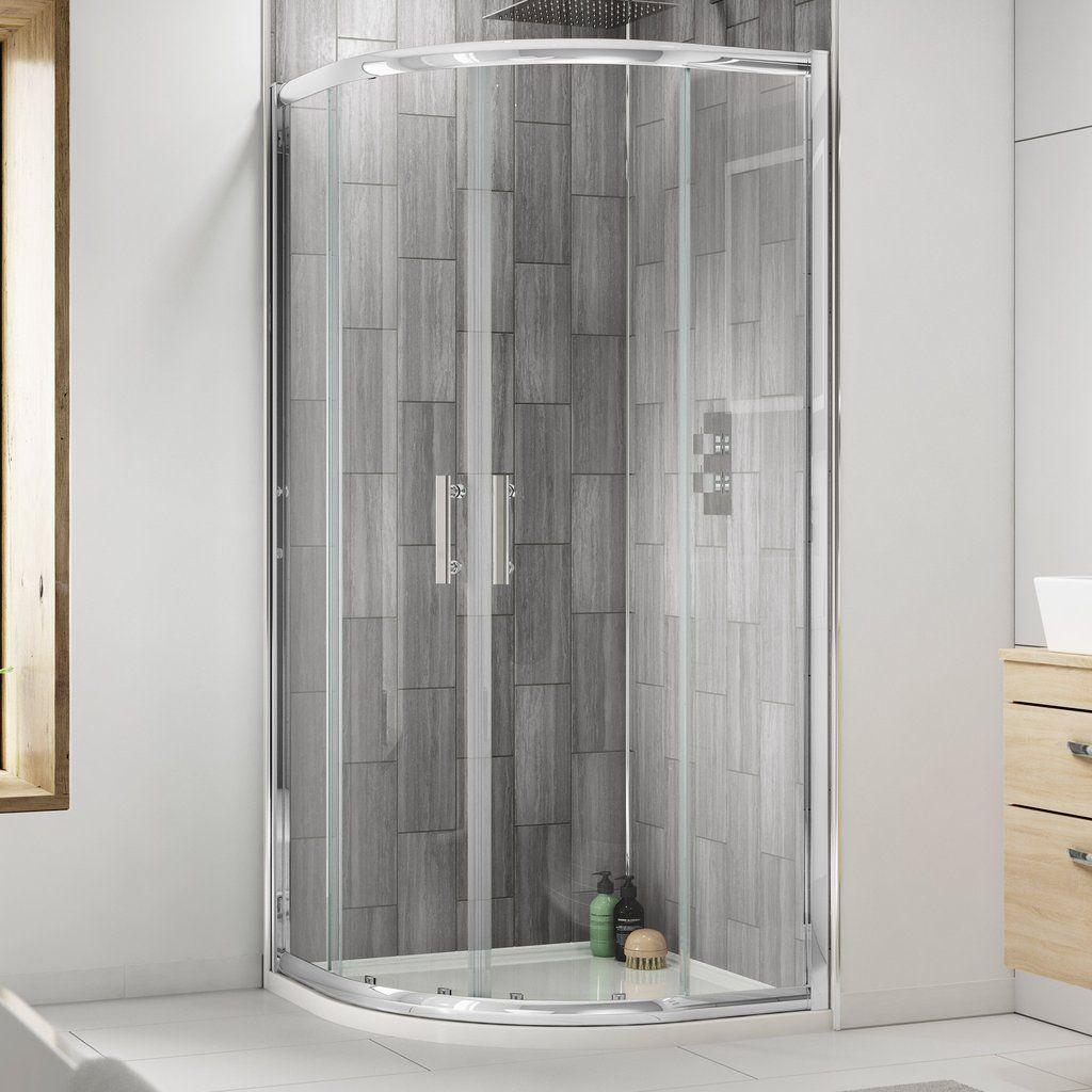 Premier Pacific Quadrant Shower Enclosure Without Tray