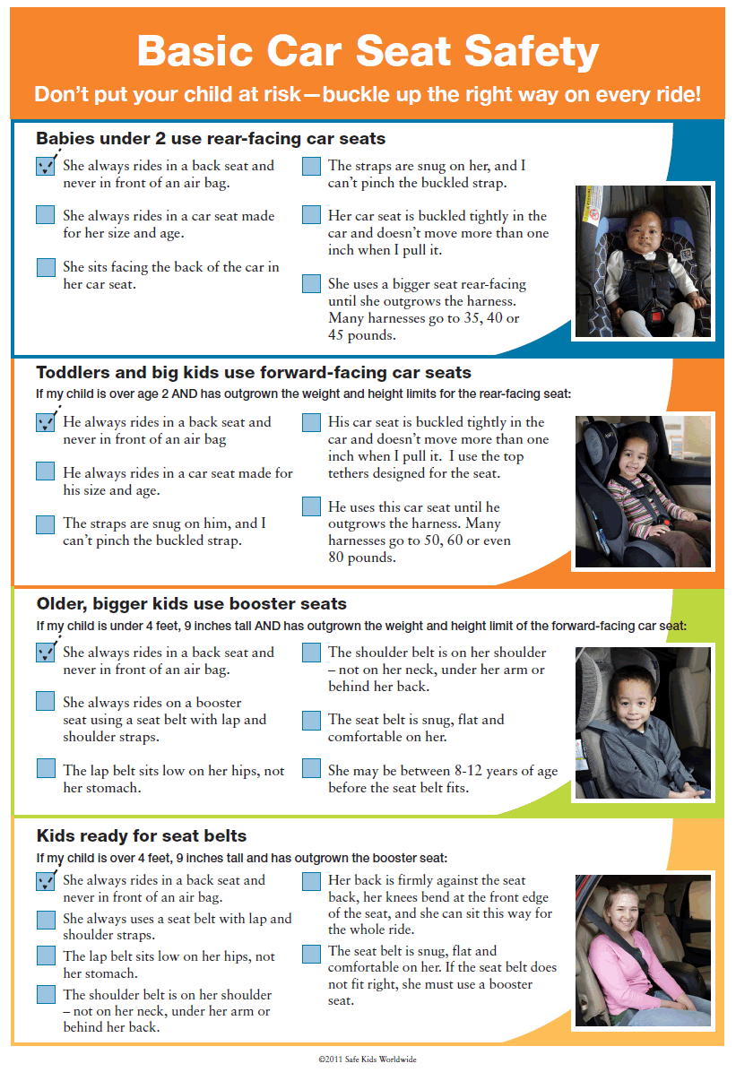 Car Seat Safety Tips | Safety Tips | Safety