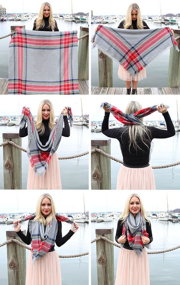 style it the blanket scarf blanket scarves and clothes. Black Bedroom Furniture Sets. Home Design Ideas