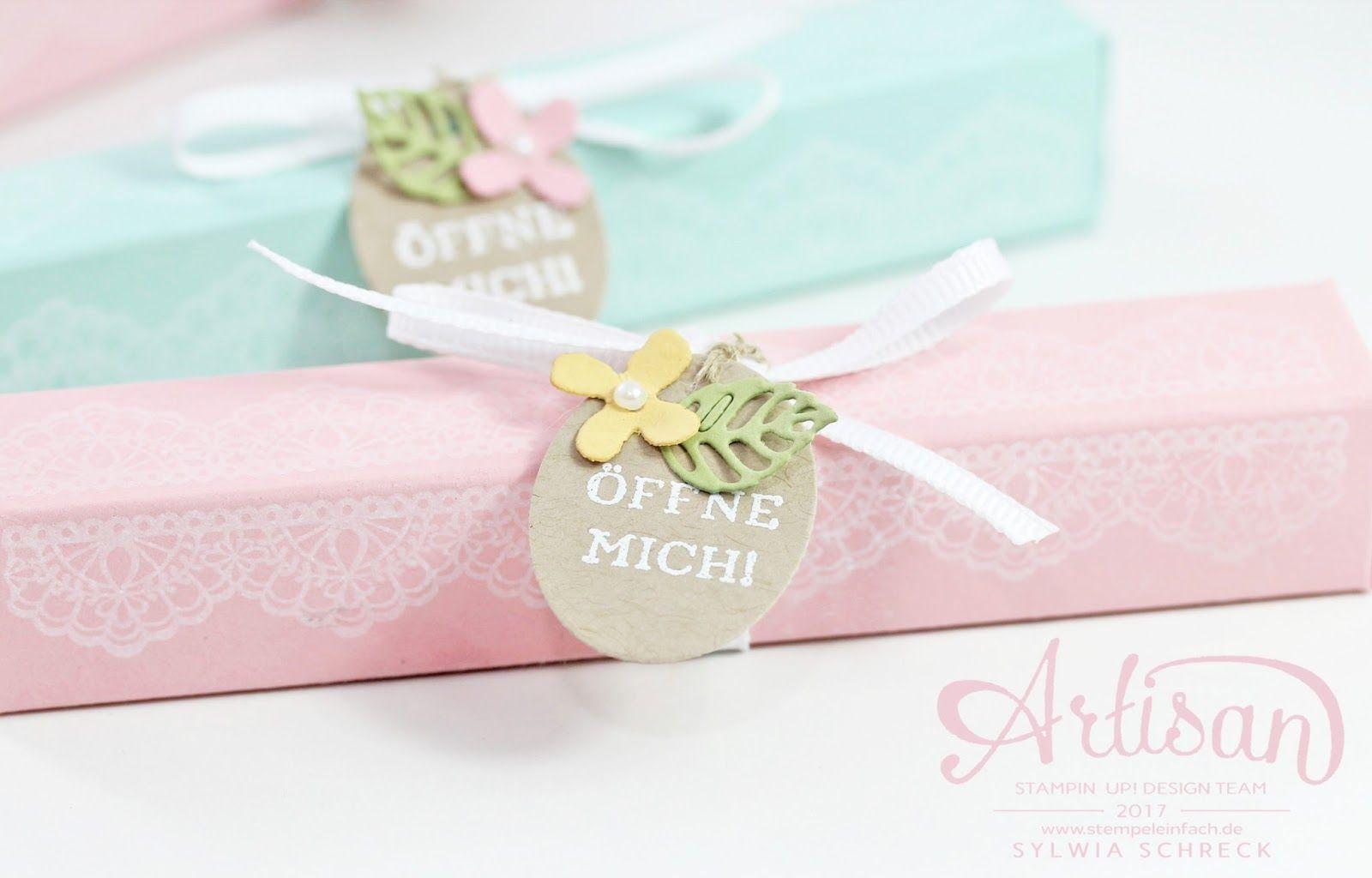 Box Basteln tisch geschenke mit delicate details stin up gift box ideas