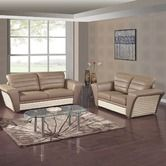 Found it at Wayfair - Alias Bonded Leather Sofa and Loveseat Set
